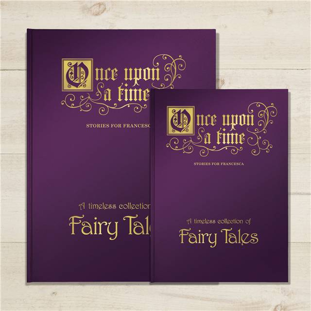 ab093f37eddf4 Once Upon a Time - Personalised Fairy Tale Collection